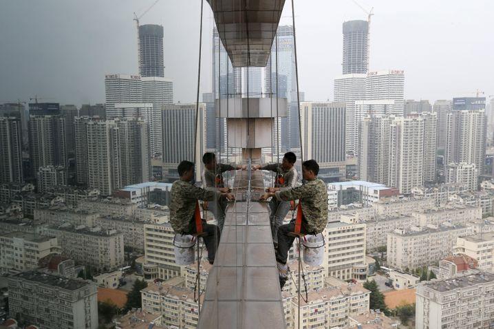 Chinas Energiehunger lässt nach: Die Produktion von Stahl und Zement hat laut IEA ihren Höhepunkt überschritten