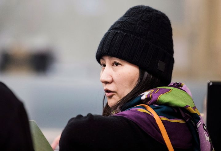 Huawei Finanzchef Meng Wanzhou in Vancouver: Gegen Kaution auf freiem Fuß - doch Meng darf Kanada nicht verlassen