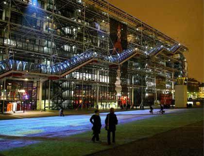 Sanftes Licht: Das Centre Pompidou feiert seinen 30. Geburtstag