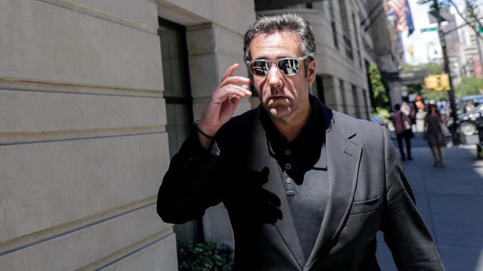 Donald Trumps langjähriger Anwalt Michael Cohen im Juni in New York