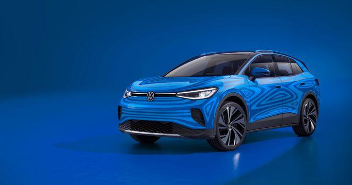 Hieß als Prototyp noch ID.Crozz: Volkswagens neuer Elektro-SUV ID.4