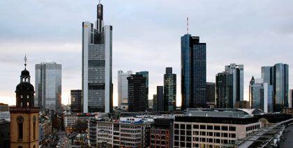 Banken-Skyline in Frankfurt am Main: Kreditinstitute fordern Anerkennung stiller Beteiligungen