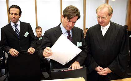 Abgeschmettert: Florian und Thomas Haffa konnten sich mit ihren Anwälten vor Gericht nicht durchsetzen
