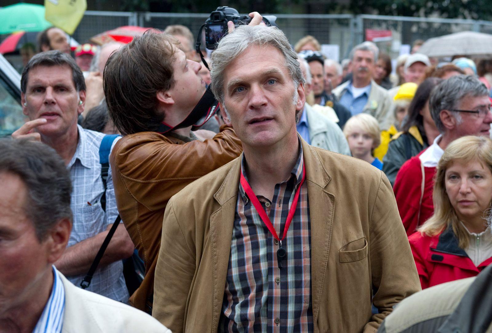 Proteste gegen Bauprojekt Stuttgart 21 walter sittler