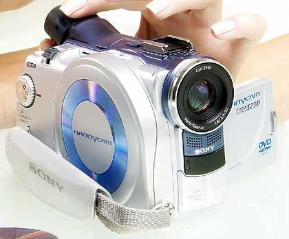Sony: Camcorder DCR-DVD200