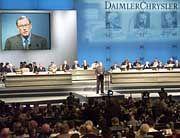 Jürgen Schrempp hat die Aktionäre nicht auf seiner Seite