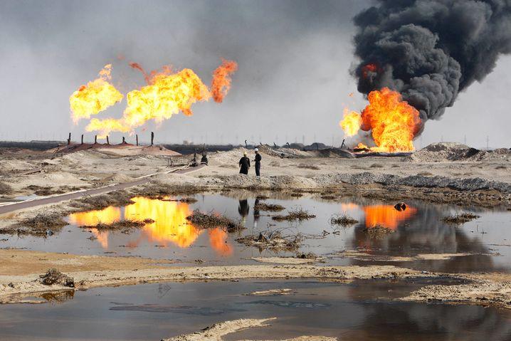 Ölfeld im Irak: Das Land hätte mehr Geld für den Kampf gegen den IS, wenn Öl teurer wäre