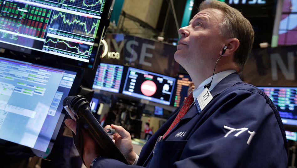 Händler in New York: Nach Ansicht von Vermögensverwalter Grüner geht die Hausse an der Börse noch weiter