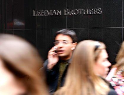 Hektik: die Rettung von Lehman Brothers scheint nicht zu gelingen. Die US-Regierung ist offenbar nicht bereit, weitere Milliardenrisiken zu übernehmen