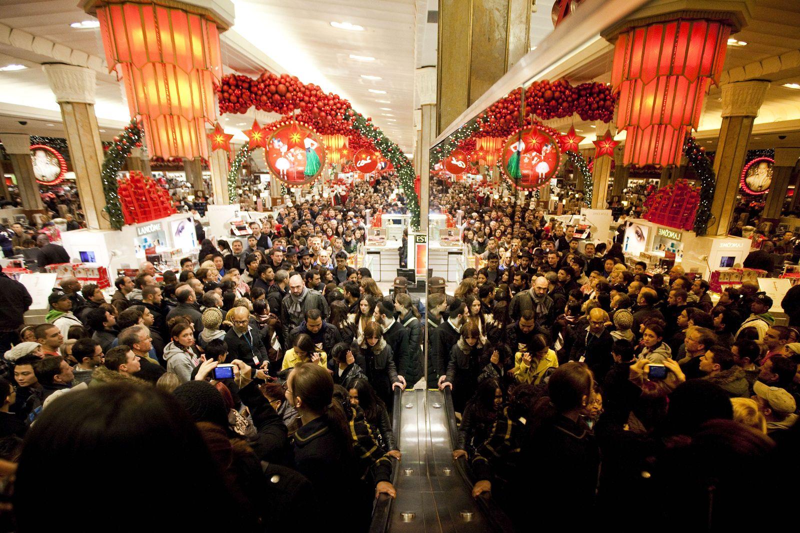 USA / Black Friday 2011 / Shopping / Schwarzer Freitag
