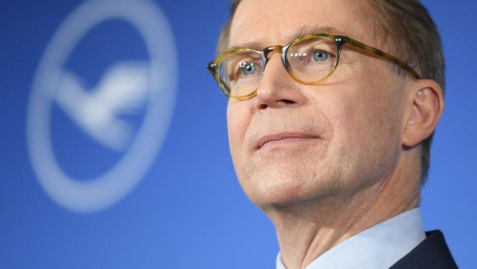 Lufthansa-Finanzvorstand Ulrik Svensson (Archivaufnahme 2018)