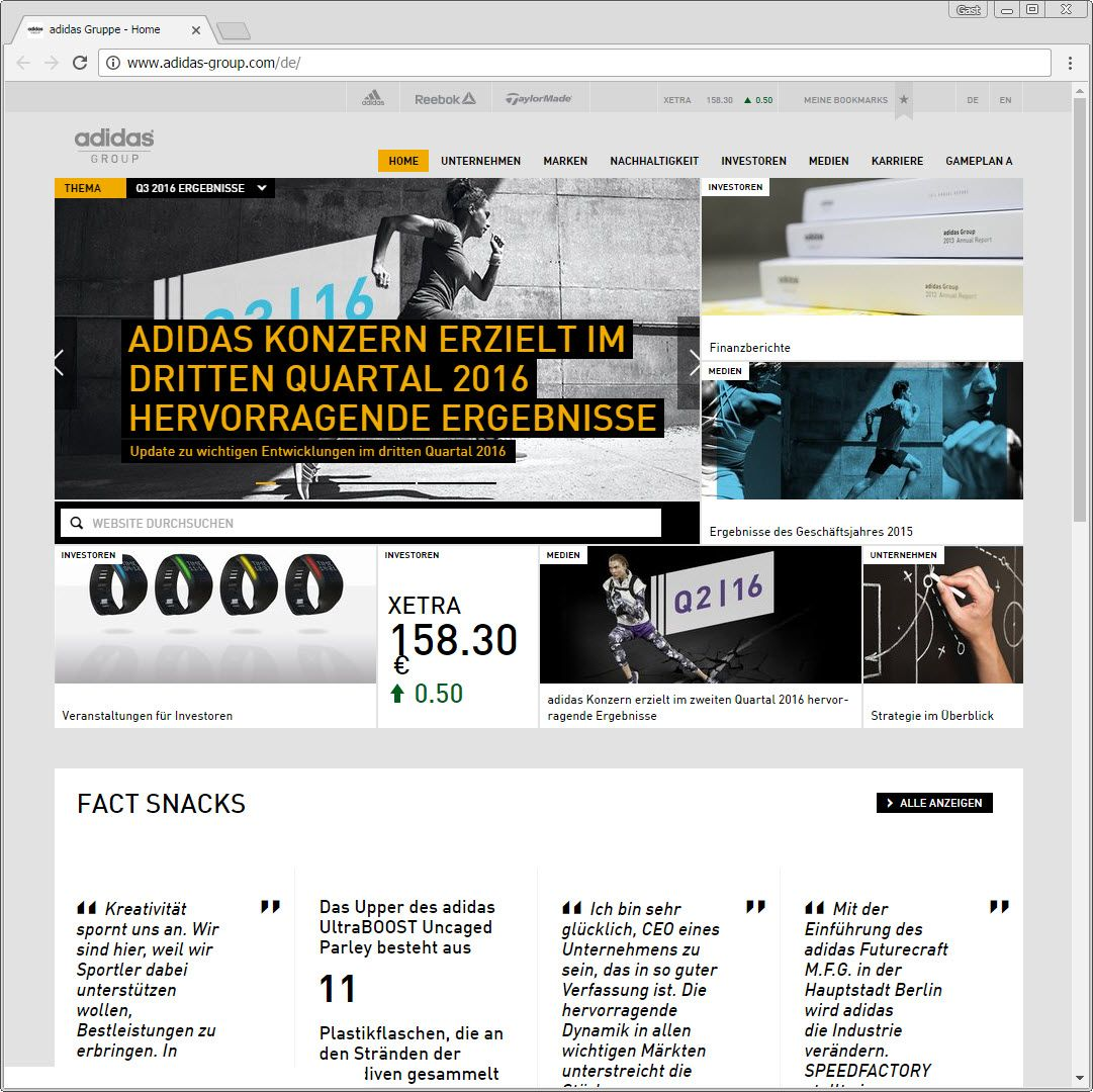 SCREENSHOT adidas-group.com