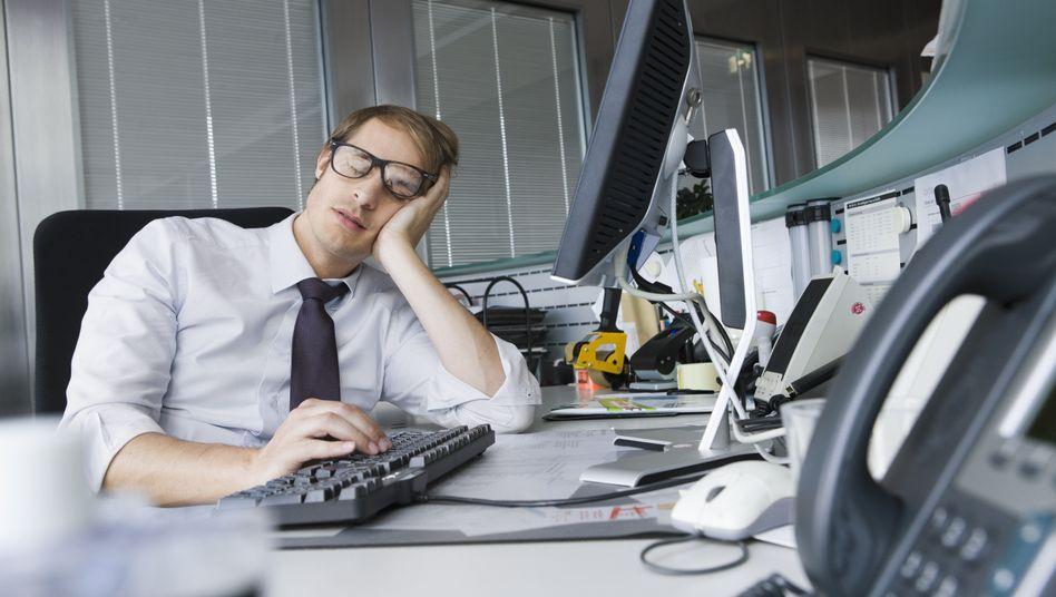 Hier fehlt Grün: Büropflanzen machen Mitarbeiter nicht nur leistungsfähiger, sondern auch zufriedener, wie eine Studie jetzt feststellt