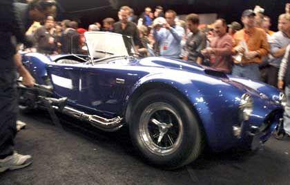 "Aufgemotzt: Der Oldtimer Shelby Cobra trägt den Namen ""Super Snake"""