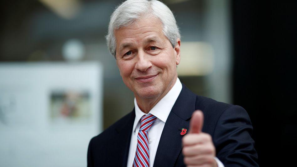 Kann zufrieden sein: Jamie Dimon, Chef von JPMorgan Chase