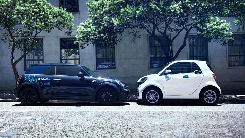 ShareNow, DriveNow, Car2Go: Die