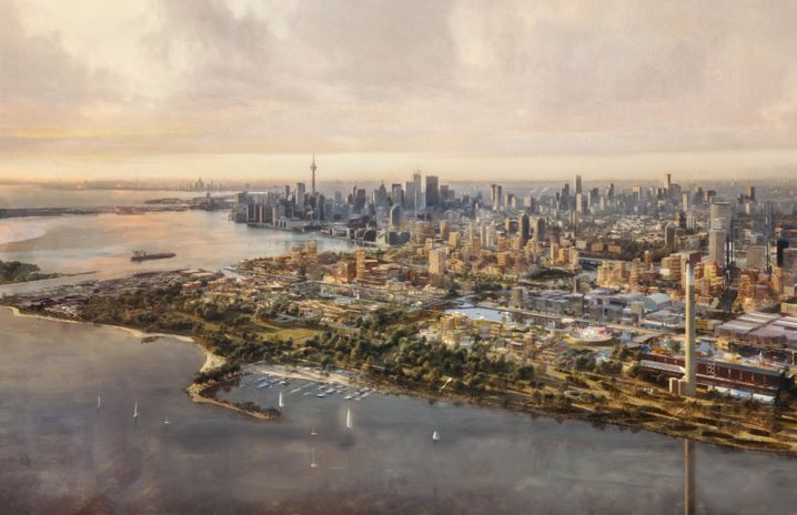 Vision von Sidewalk Labs für Toronto im Jahr 2050