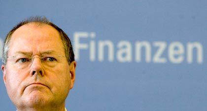 Diplom-Volkswirt mit flinkem Mundwerk: Ex-Finanzminister Peer Steinbrück