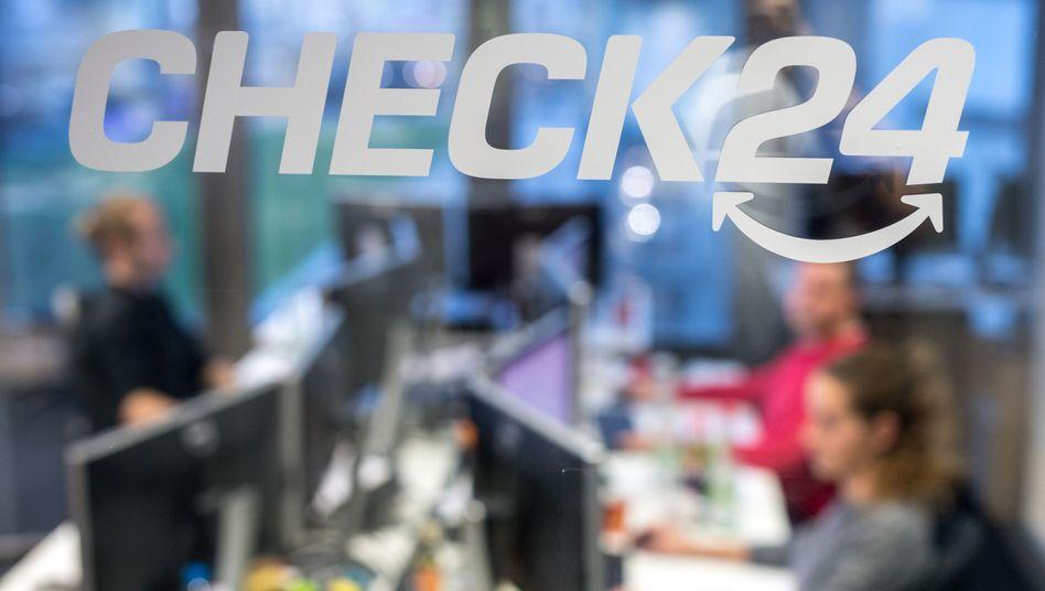 Blick in die Check24-Zentrale (Archivbild von Dezember 2015).