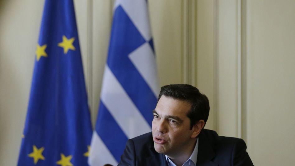 Griechenlands Premier Alexis Tsipras: Zinsenstundung oder gestreckte Rückzahlung