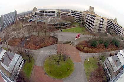 """Kritische Masse: Die jungen Unis in Bochum, Dortmund (im Bild) und Duisburg-Essen bilden die """"Universitätsallianz Metropole Ruhr"""""""
