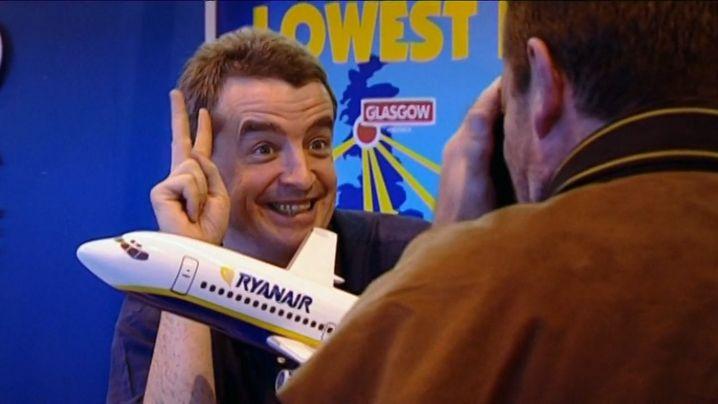 """""""Medien-Tussi"""": Ryanair-Chef O'Leary machte sich anfangs noch lustig über die Frau an der Spitze des Wettbewerbers Easyjet."""