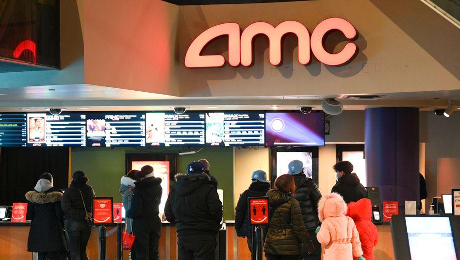 Spielball von Spekulanten: Die US-Kinokette AMC
