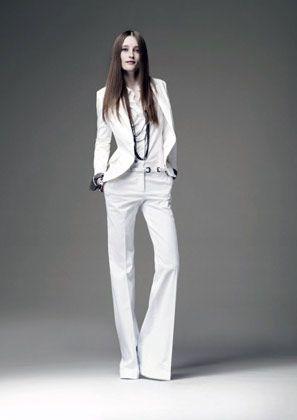 Wandlungsfähig: Mit diesem Marlene-Outfit ist sie nicht nur im Job gut gekleidet
