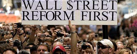 Demonstration im Vorfeld des G20-Gipfels in Pittsburgh (USA): Europäische Regierungschefs fordern entschiedene Einschnitte