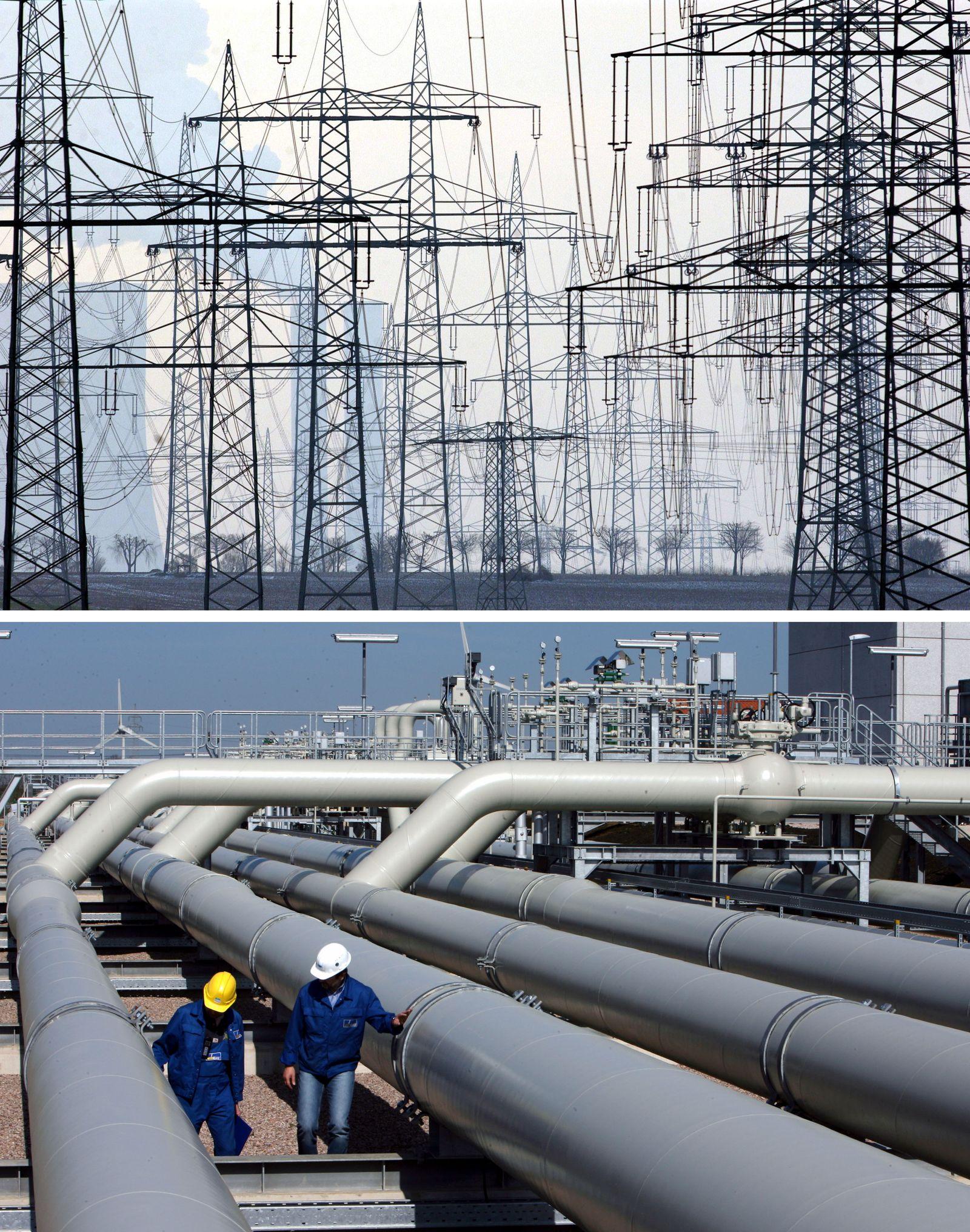 Netzagentur gibt weitere Entscheidungen zu Stromgebühren bekannt / Bundesnetzagentur / Gas / Pipelines