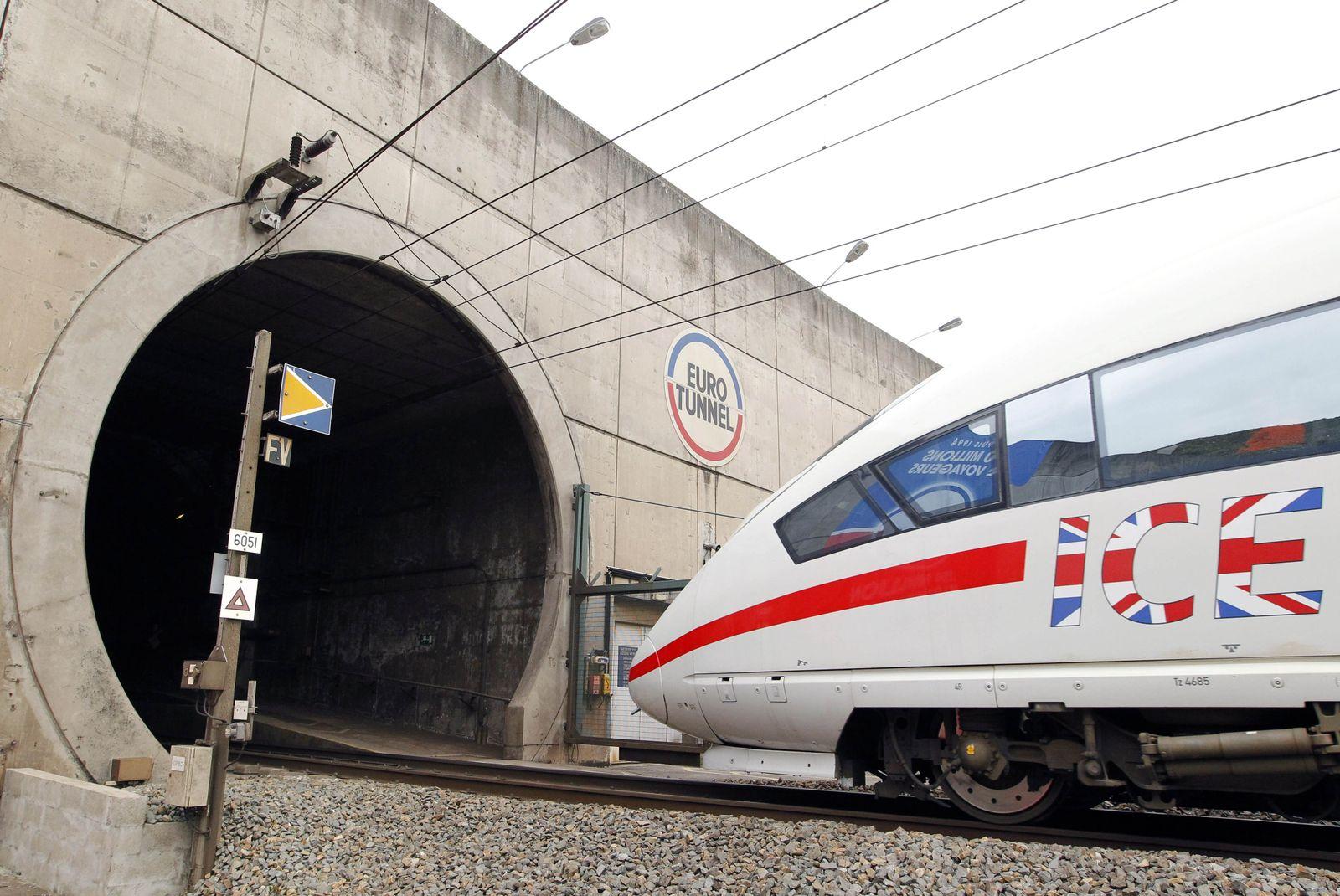 Frankreich Eurotunnel
