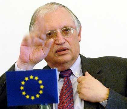 Eu-Kommissar unter Jose Manuel Barroso: Günter Verheugen