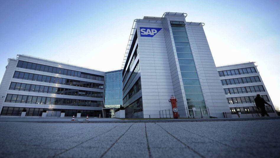 SAP-Zentrale in Walldorf: 4,7 Milliarden Euro operativer Gewinn - und 1,3 Milliarden Euro Gesamtausschüttung