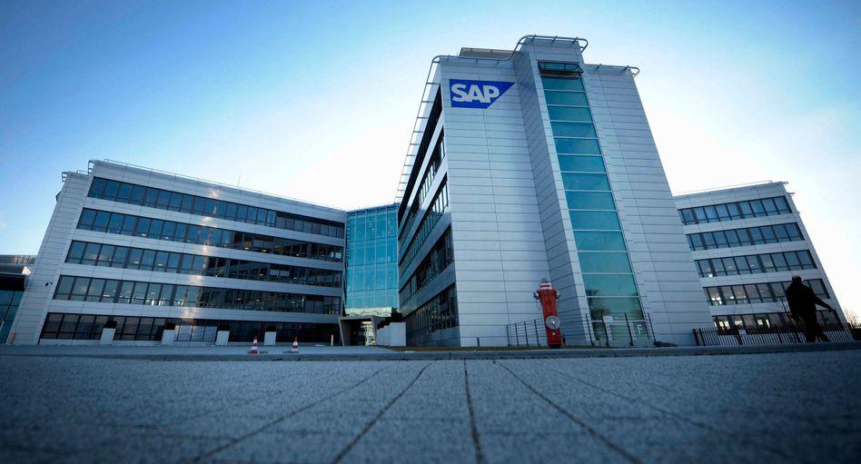 SAP-Hauptsitz in Walldorf: Von Konjunktureintrübung spürt der Softwarekonzern nichts
