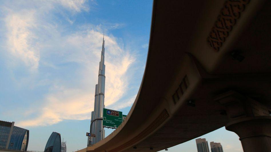 Hoch hinaus: Burj Khalifa in Dubai