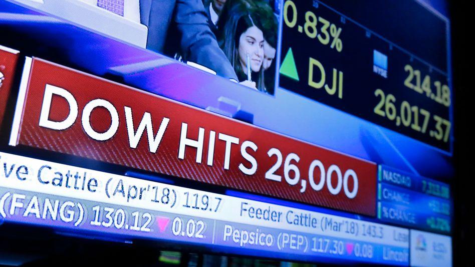US-Blue-Chip-Index Dow Jones: Einer von mehr als drei Millionen
