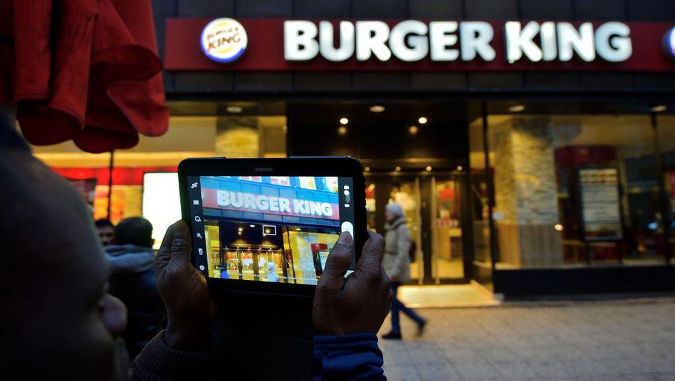 Burger-King-Filiale in Frankfurt: Derzeit ist Burger King in Deutschland nur halb so groß wie Rivale McDonald's