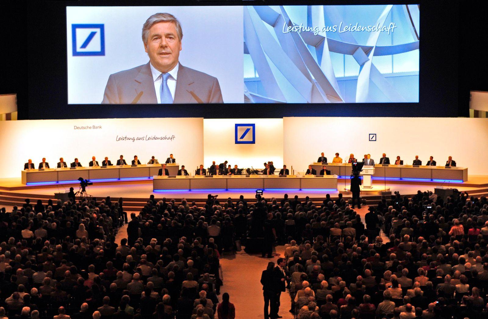 Hauptversammlung 2011 Deutsche Bank