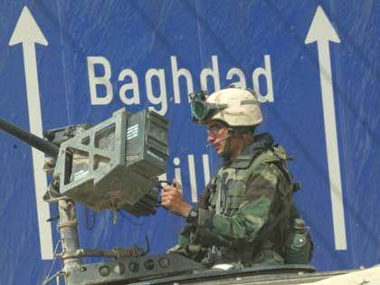 Schnelle Eroberung: Der zivile Neuanfang im Irak erfordert noch mehr Kraft als der militärische Sturz des Diktators