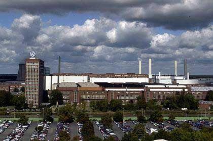 MAN vor einer Beteiligung?:Die VW-Zentrale in Wolfsburg