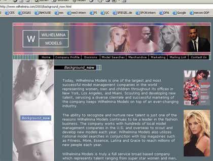 Eine der größten der Branche: Model-Agentur Wilhelmina in New York