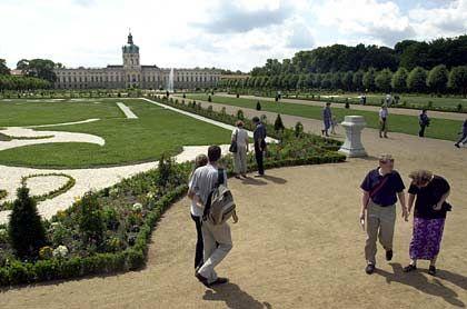 Schloss Charlottenburg: Der Barockgarten wurde für rund eine halbe Million Euro wieder hergestellt