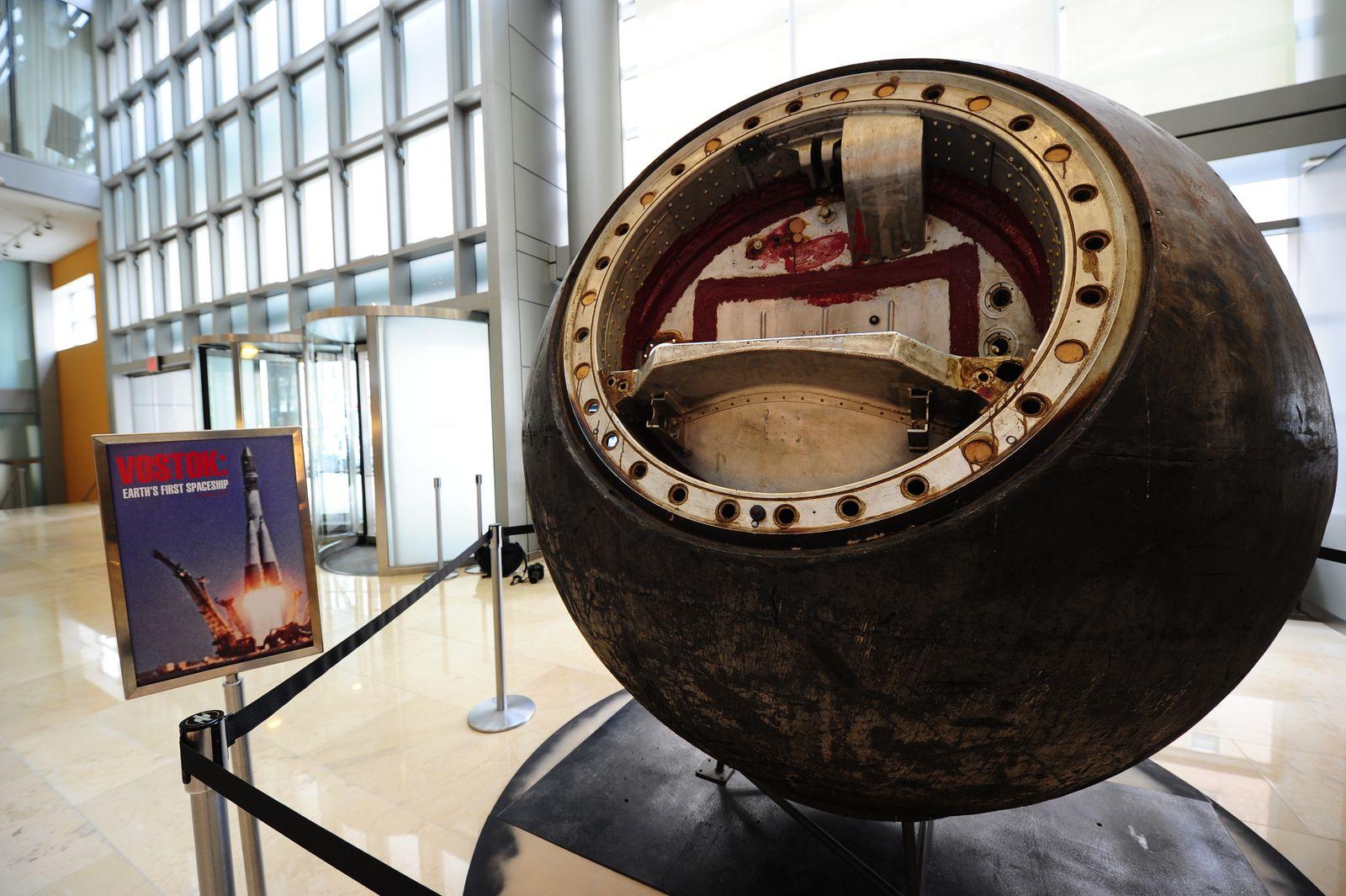 Sotheby's versteigert Raumschiff / historische sowjetische Wostok-Kapsel