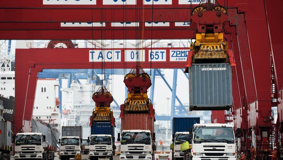 Hafen Tientsin: Die Regierung hält geringeres Wachstum für akzeptabel