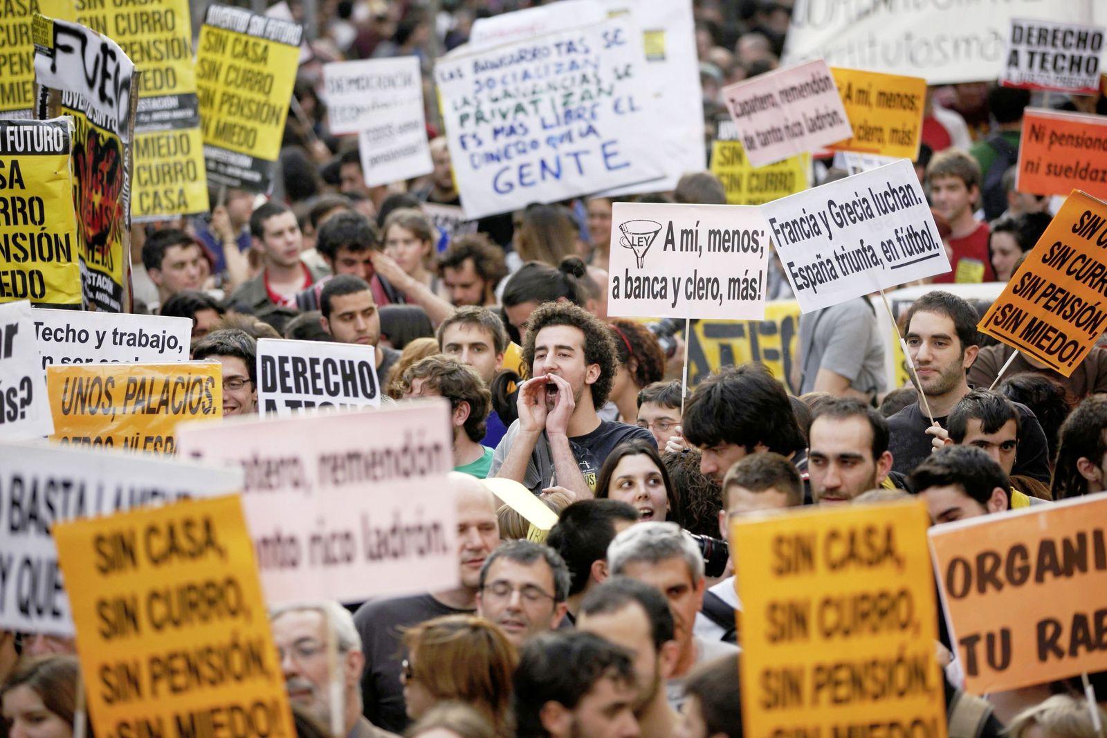 spanien rezession
