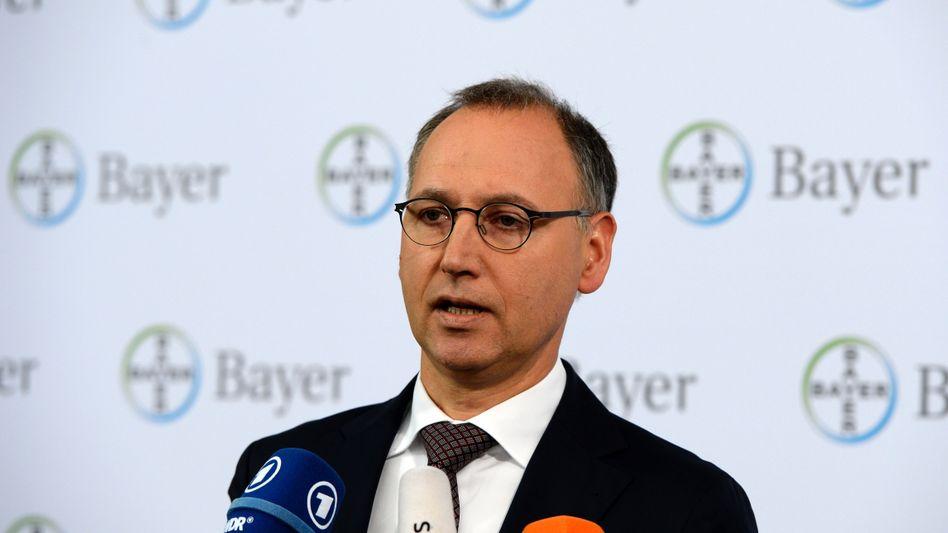 Bayer-Chef Werner Baumann: Offerte für Monsanto aufgestockt