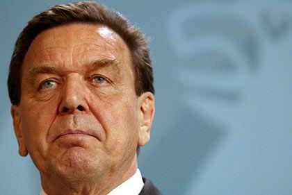 """Gerhard Schröder: """"Grundlage der Arbeit in Frage gestellt"""""""