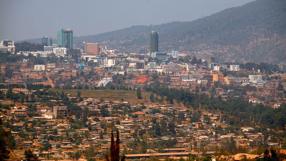 """Dubai und Singapur dienen als Vorbild: """"Vision 2020"""" heißt das überehrgeizige Konzept von Präsident Paul Kagame für Ruandas aufstrebende Hauptstadt Kigali"""