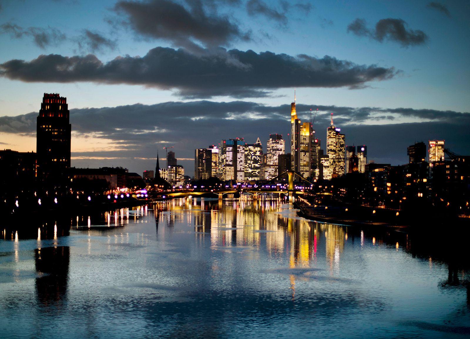 Frankfurt / Banke / Banken-Viertel