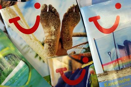 Schwaches Geschäft: In der europäischen Sommersaison sind die Buchungen von Tui Travel um 10 Prozent geschrumpft
